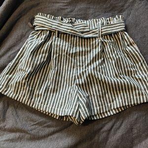 L.A. Hearts Pacsun striped shorts
